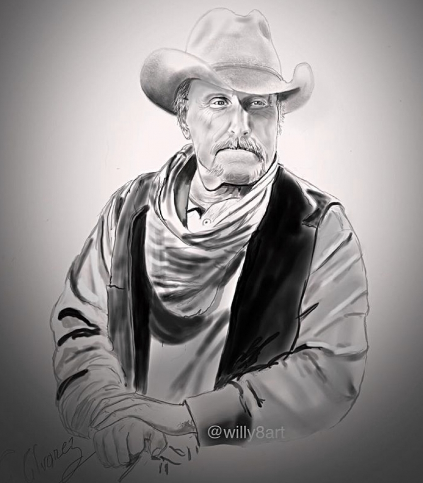 Robert Duvall by Willy8art